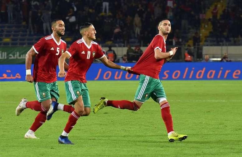 Marruecos cierra al público todas sus ligas. EFE
