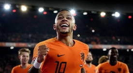 Memphis Depay praises Koeman for his style of coaching. EFE