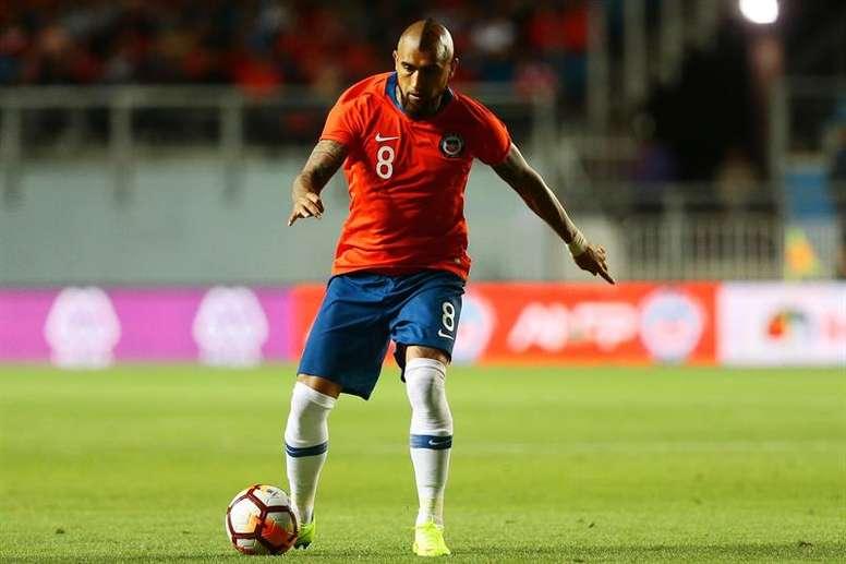 Vidal ha llorado por el Mundial de Rusia. EFE