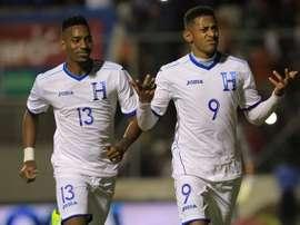 Honduras ganó por 1-0. EFE