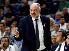 El entrenador del Real Madrid, Pablo Laso. EFE/Archivo