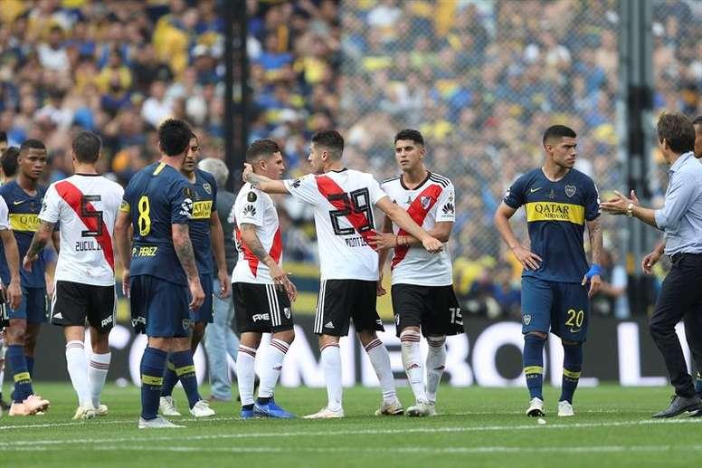 Pin River Plate y Boca Juniors se disputarán el cetro dudamericano en  Madrid. EFE 406d125a4032b