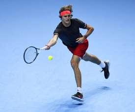 El tenista alemán Alexander Zverev. EFE