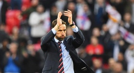 Southgate has been linked with the vacancy at Manchester United. EFE