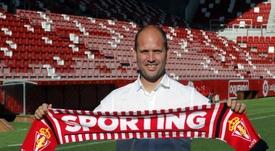 El técnico también habló sobre la derrota ante el Zaragoza. EFE