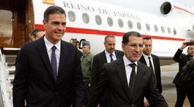 El presidente trasladó su iniciativa a Marruecos. EFE