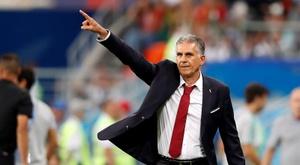 Carlos Queiroz, treinador da seleção do Irão. EFE