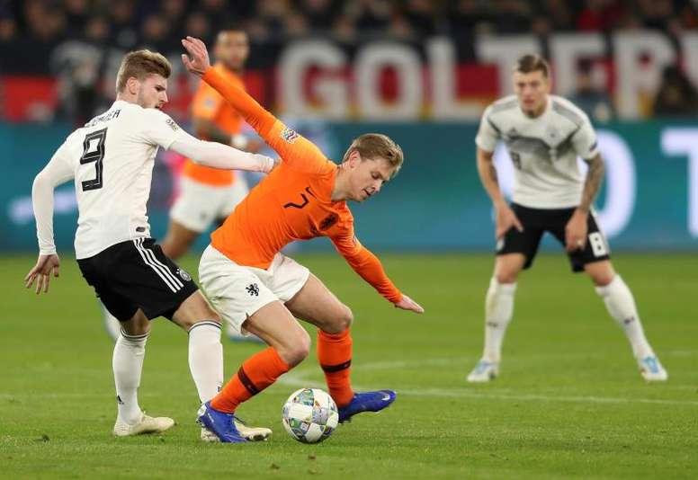 Les Pays-Bas et l'Allemagne s'affrontent de nouveau. EFE