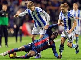 Diego Llorente plaît à Liverpool. EFE
