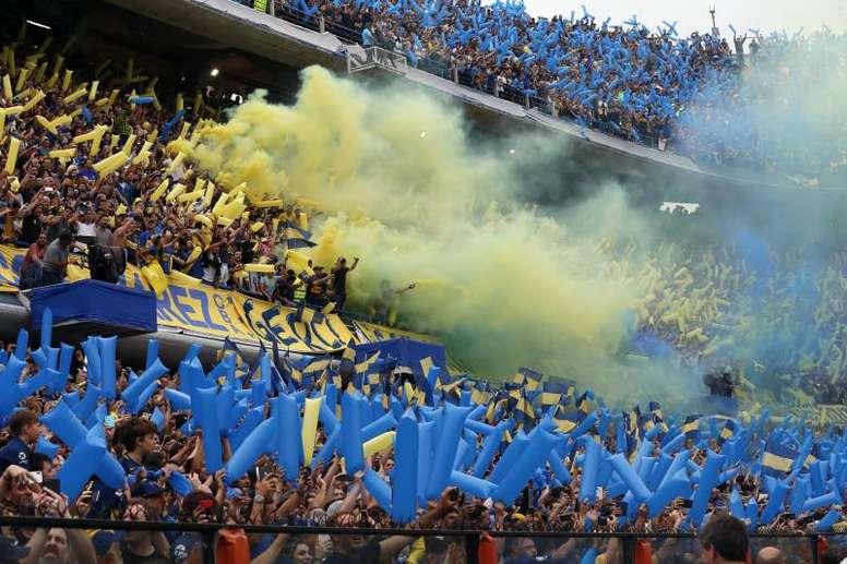 El aficionado no podrá asistir a los partidos de Boca. EFE