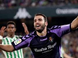 Antoñito ya fue estrella en Sevilla ante el Betis. EFE