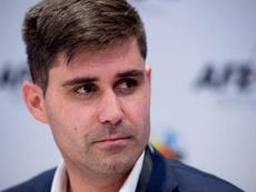 Aganzo volvió a insistir en que el Girona-Barça será en España. EFE