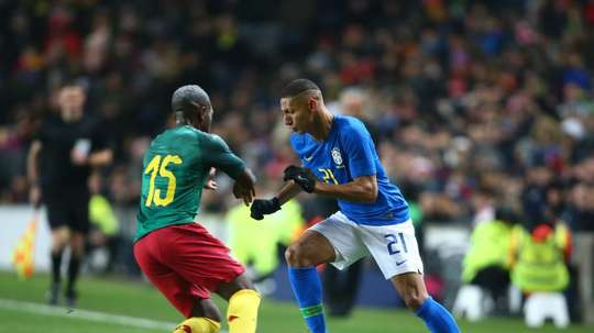 Tite was delighted by Richarlison's performance. EFE