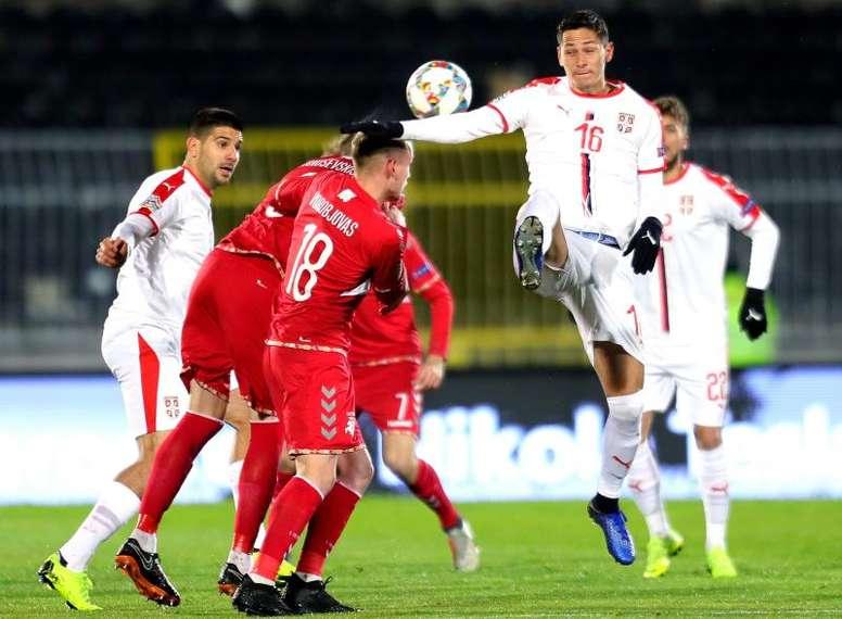 Lukic conoce LaLiga desde su etapa en el Levante. EFE