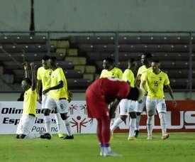 Ecuador sumó una nueva victoria ante Panamá. EFE