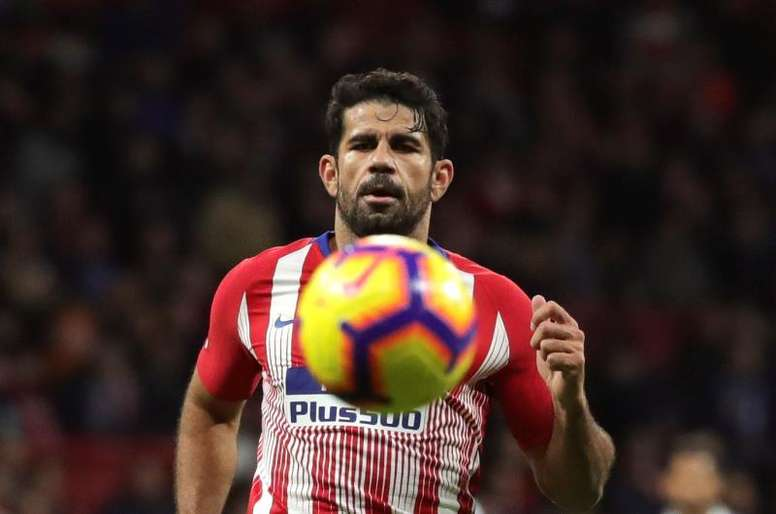English media say Costa will join Everton for next season. EFE/Archivo
