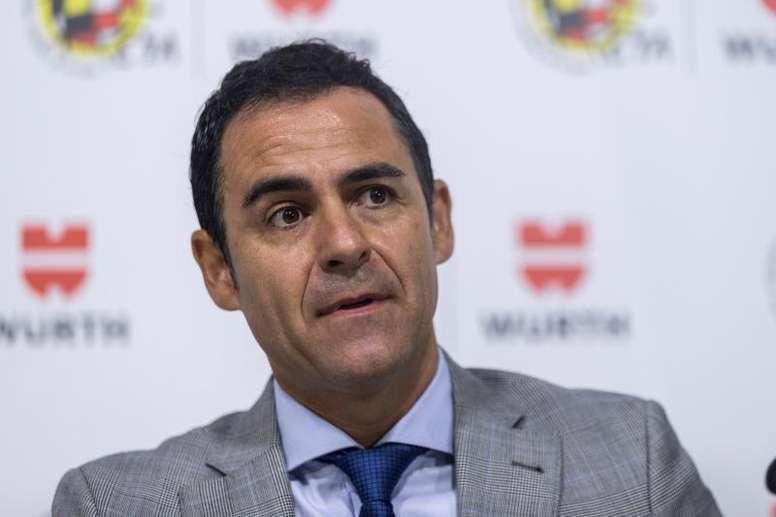 Velasco Carballo no hubiera anulado el gol de Rochina. EFE/Archivo
