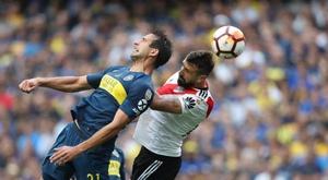 El River-Boca se jugará este sábado. EFE/Archivo