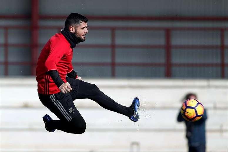 Osasuna recupera a dos jugadores. EFE/Archivo