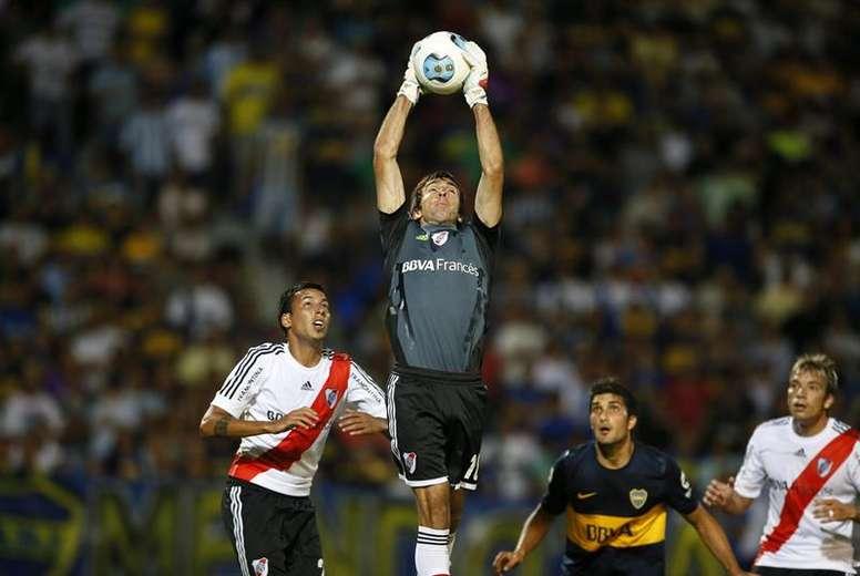 Marcelo Barovero podría jugar en España. EFE