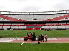 Possível caso de coronavírus no River Plate. EFE