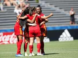 España, a semifinales. EFE