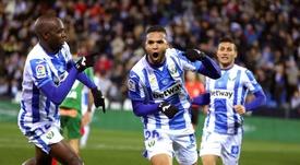 El Leganés pierde a cinco futbolistas en este parón. EFE