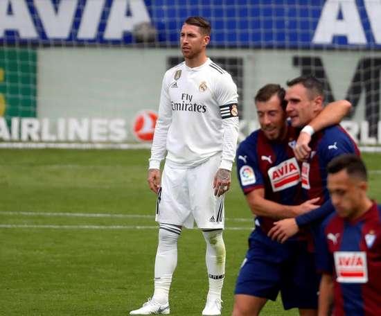 Le Real Madrid s'est incliné sur le score de 3-0. Goal