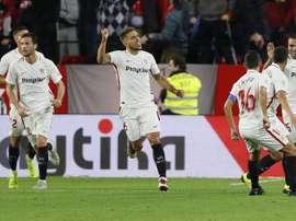 Séville est premier de cette Liga complètement folle. EFE