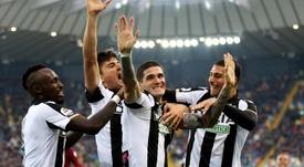 L'Inter va accélerer pour De Paul. EFE/EPA