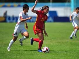 España tuvo que recurrir a los penaltis para lograr el pase. EFE