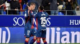 Rivera quiere seguir en el Huesca. EFE
