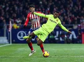 El lateral jugará su partido número 50. EFE