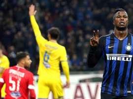 L'Inter ne veut pas lever l'option d'achat. EFE