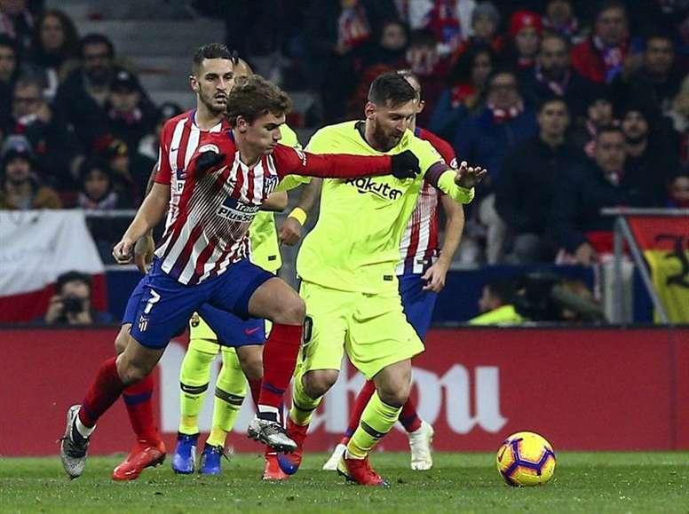 El fichaje de Griezmann por el Barcelona no emite nuevas señales. EFE