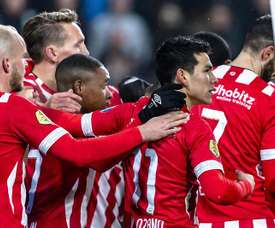 El PSV sufre para ganar. EFE