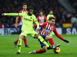 Atleti now want Barça to hurry up and sign Griezmann. EFE