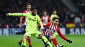 El Atlético de Madrid podría urgir al Barcelona a que fiche a Griezmann. EFE