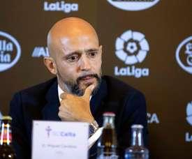Miguel Cardoso debutará al frente del Celta en Anoeta. EFE/Archivo