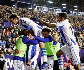 La Real Sociedad veut la victoire. EFE