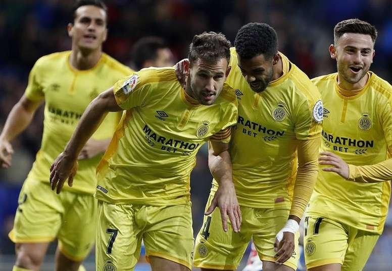 Stuani destrozó al Espanyol con dos goles. EFE