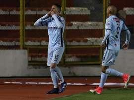 Jorge Wilstermann patina y Bolívar gana el partido más fácil de la temporada. EFE