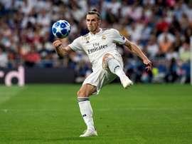Bale a le soutien de son entraîneur. EFE
