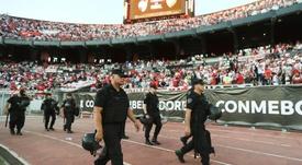 Ameal valoró el papel de los directivos de Boca en la pasada Libertadores. EFE