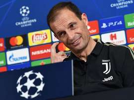 Allegri ha parlato in conferenza. AFP