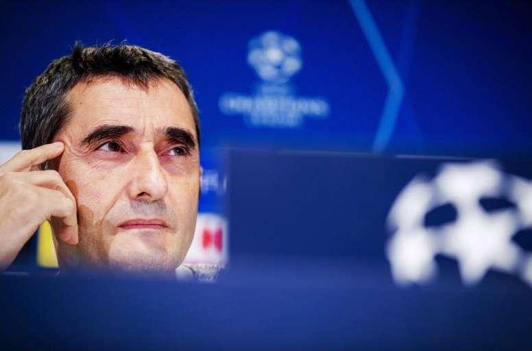 Valverde est perplexe. EFE