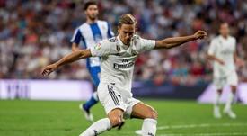 Marcos Llorente ficha por el Atlético de Madrid. EFE
