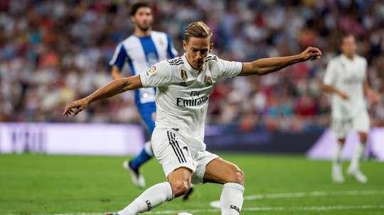 Marcos Llorente a fait un grand pas en avant au Real Madrid. EFE