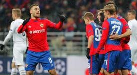 El CSKA afianzó la tercera plaza. EFE