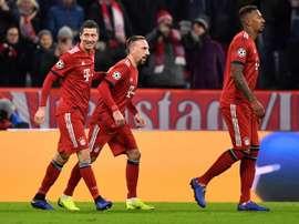 El Bayern goleó al Benfica. EFE